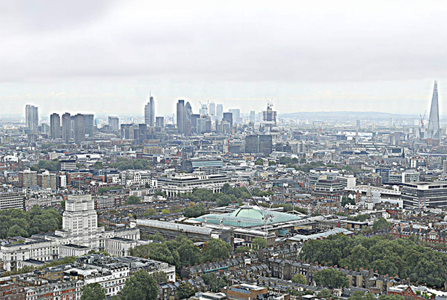 BT London Gigapixel Panorama